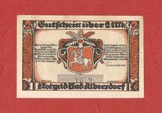 Germany Notgeld 2 Marks 1922 Schleswig Holstein Albersdorf #58