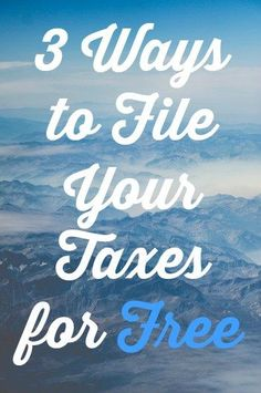 What you should know about filing your taxes late tax 3 ways to file federal taxes online for free ccuart Image collections