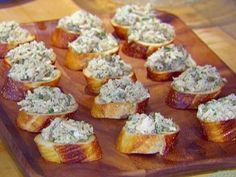 Get Tuna Caper Crostini Recipe from Food Network