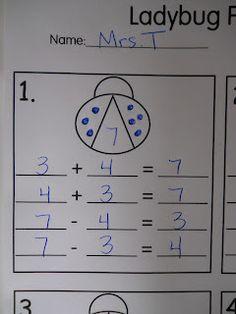 Mrs. T's First Grade Class: Ladybugs