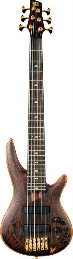 Ibanez SR5006E Prestige 6-String Bass Guitar - Beautiful...I desire - more on www.guitaristica.org #bassguitar #guitars #guitaristica