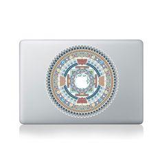 Indian Spiritual Mandala Vinyl Macbook Sticker for Macbook 13/15