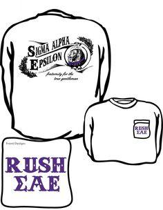 Sigma Alpha Epsilon Rush Shirt