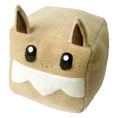 Hey, I found this really awesome Etsy listing at https://www.etsy.com/listing/198373153/pokemon-eevee-cubee-cube-plushie-stuffed