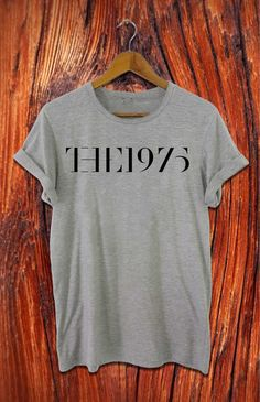 the 1975 shirt the 1975 band shirt new design black by Alyssioshop