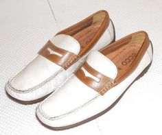 Ecco Men's Handsewn Leather Penny Loafer Moccasin Shoe Euro 44  US 10.5 #ECCO #LoafersSlipOns