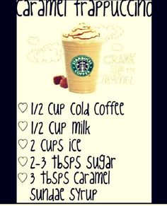 How To Make A Boss Caramel Frapp #Various #Trusper #Tip