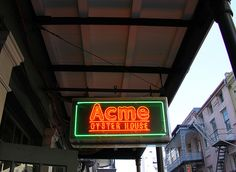 Try the Peace Maker Po-boy, with half shrimp, half oysters. www.acmeoyster.com