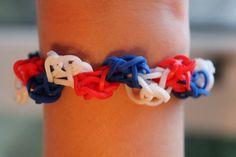 Rainbow loom Nederlands, zig zag, armband