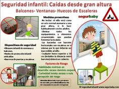 ¿Cómo evitar caídas infantiles desde ventanas, balcones y huecos de escaleras? Te damos las claves en este decálogo http://blgs.co/8734GD