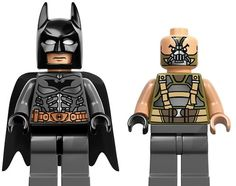 LEGO Reveals Minifigures for 'The Dark Knight Rises' - DesignTAXI.com