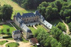 Castle VERNON, 17th century, in Normandy near Paris
