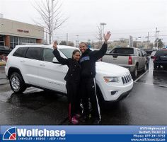 #HappyAnniversary to Krystal Flemmings on your 2014 #Jeep #Grand Cherokee from Tommie Cantrell at Wolfchase Chrysler Jeep Dodge!