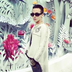 G-Dragon   Chanel Haute Couture Show in Paris
