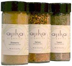 Ajika organic Middle Eastern Spice Blend Gift Set, 16-Ounce - http://www.yourgourmetgifts.com/ajika-organic-middle-eastern-spice-blend-gift-set-16-ounce/