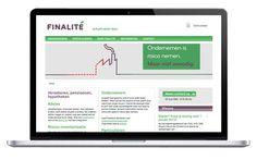 finalité website design by daily milk