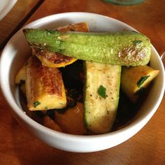 ada street : roasted summer squash.