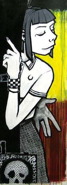 Rude Girl by MATT MIMS, via Flickr