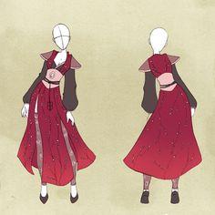 :: Commission Outfit 02 :: by VioletKy.deviantart.com on @deviantART