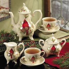 Christmas Cardinal Bird Teapot Cups Creamer Sugar Set by OTC, http://www.amazon.com/dp/B004CZ71YW/ref=cm_sw_r_pi_dp_WrYyqb0YWDWZA