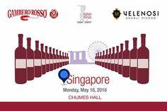VELENOSI VINI in Asia: a SINGAPORE con Gambero Rosso  Ripartiamo con il Top Italian Wines Road Show di Gambero Rosso, questa volta in Asia! Per la prima tappa il 16 Maggio saremo a Singapore presso il Chijmes Hall , per una degustazione unica aperta sia agli esperti di settore che ai #winelovers!