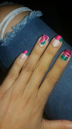 Diy Nails, Pretty Nails, Nail Art Designs, Make Up, My Favorite Things, Beauty, Nail Bling, Fingernails Painted, Trendy Nail Art
