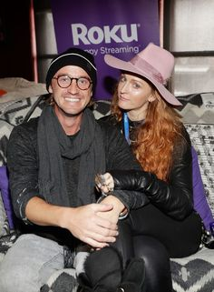 Tom Felton Photos - Tom Felton (L) and Claire McCarthy attend Rock & Reilly's daytime lounge presented by J.Crew, NYLON and Roku during Sundance Film Festival 2018 on January 20, 2018 in Park City, Utah. - Rock & Reilly's Daytime Lounge Presented by J.Crew, NYLON and Roku - Day 2