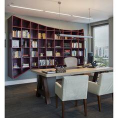 Estante, clean, cool, design, interior designer, bookcase, decor www.patriciamartinez.com.br
