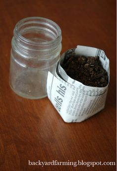 I've used this seed starting method many many times.  Other than the soil, it is free and works well!