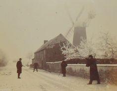 Old Photograph, Windmill, Cooks Lane, BARROW, Men Shooting. | eBay