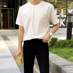 Stylish Mens Outfits, Casual Outfits, Fashion Outfits, Guy Fashion, Stylish Clothes, Simple Outfits, Winter Fashion, Korean Fashion Men, Korean Street Fashion