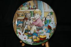 The 1998 Carol Lawson Plate   Little by HeathersVintageRetro, $20.00