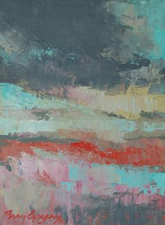 abstracted landscape II by eringregory on Etsy, $130.00
