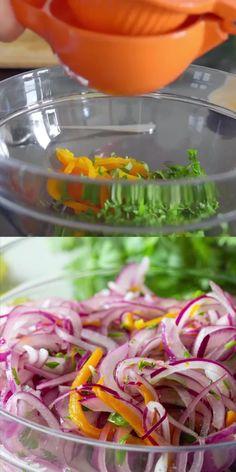 Easy Healthy Recipes, Raw Food Recipes, Mexican Food Recipes, Vegetarian Recipes, Cooking Recipes, Peruvian Dishes, Peruvian Cuisine, Peruvian Food Recipes, Tasty Videos