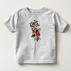 Pink Roses Vintage Ornamental Roses Toddler T-shirt - vintage gifts retro ideas cyo