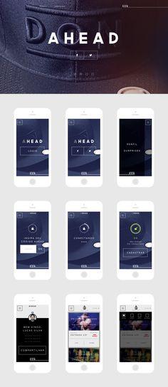 Ahead Interface #UI