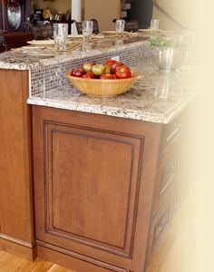 glass tile backsplash kitchen design