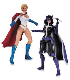 DC Comics Worlds' Finest New 52 Action Figure 2 Pack - Power Girl & Huntress Toy Art, Superman, Power Girl Dc, Batman Eternal, Dc Comics Action Figures, New 52, Wonder Woman, Women Figure, Comic Book Heroes