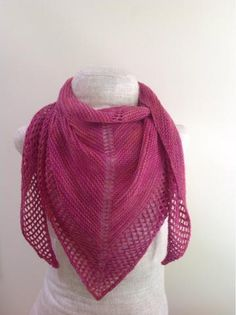 Blush Summer Shawl Pattern