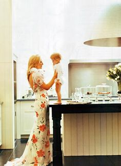 picture of Marie Chantal, child on countertop