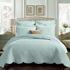 Sage Garden Luxury Pure Cotton Quilt, Light Aqua, King Size Calla Angel http://www.amazon.com/dp/B00EXQ6NM6/ref=cm_sw_r_pi_dp_XH.fwb1APKJ5V