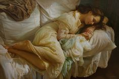 Serge Marshennikov  http://serge-marshennikov.tumblr.com/archive his paintings are unreal....some resemble photographs and are so life-like....stunning
