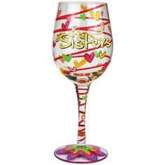 Special Offers - Westland Giftware 15-Ounce Sisters Wine Glass 9-Inch - In stock & Free Shipping. You can save more money! Check It (August 21 2016 at 02:09AM) >> http://uniquewineglass.net/westland-giftware-15-ounce-sisters-wine-glass-9-inch/