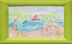 Watercolor Salt Painting