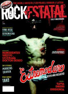 Número 5 de la #revista Rock Estatal dedicado a #Extremoduro, #Festivales, #Reincidentes, #Porretas y muchos más...