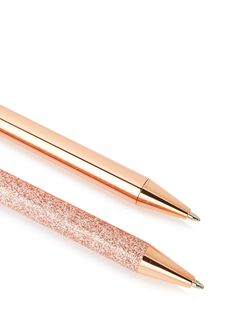 Discover & shop the range of cute stationery with the Rose Gold Glitter Pen Pack at Skinnydip London. Best Friend Gifts, Gifts For Friends, Rose Gold Stationery, School Supplies, Office Supplies, Skinnydip London, Perfect Gift For Her, Rose Gold Glitter, Office Accessories