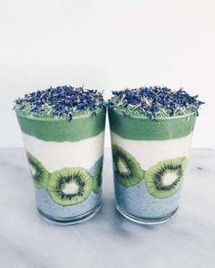 Smoothie algue bleue et spirulineMixer chaque partie séparément les unes après les autres. Réserver ... - Vogue Paris
