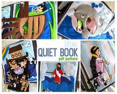 Bible Quiet Book PDF Pattern