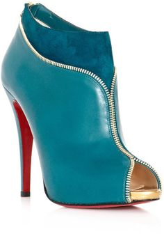 Christian Louboutin Colzippe Ankle Boots