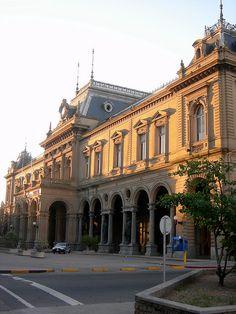 Fachada de la Estación Central de AFE, Montevideo, Uruguay